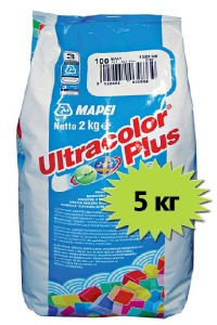 Mapei Ultracolor plus №110 манхэттен Затирка для швов (5 кг.)
